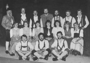 Gründungsmannschaft 1981