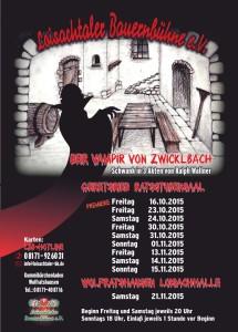 Die Loisachtaler Bauernbühne spielt: Der Vampir von Zwicklbach